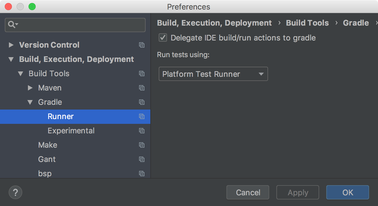 Intellij Config