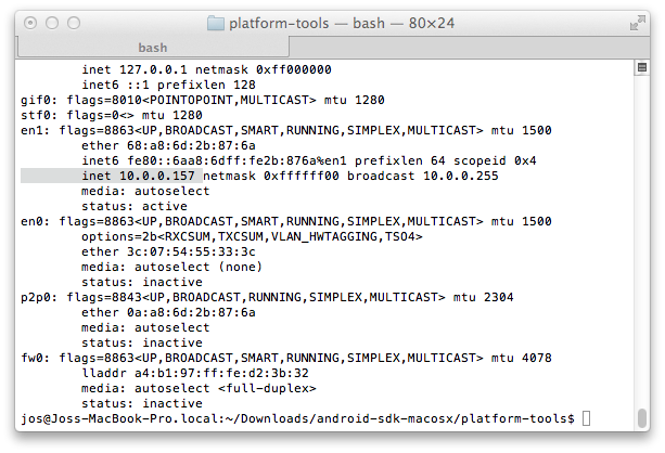 platform-tools — bash — 80×24.png