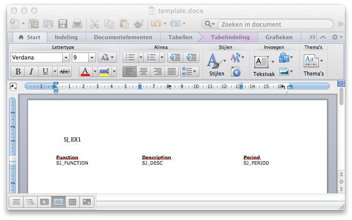 Create complex Word ( docx) documents programatically with